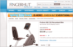 fingerhut redesign